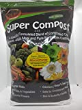Soil Blend Super Compost with Mycorrhizal Fungi, Concentrated Strength, Certified Organic Approved. Odorless