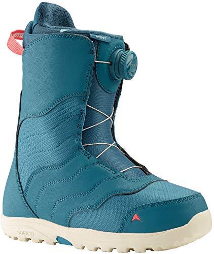 Burton Mint BOA Snowboard Boots Womens Sz 7.5 Storm Blue