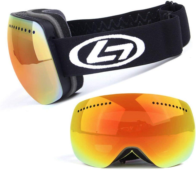 MmingS Home Brille Brille, Skibrille, Bergspiegel, Wind Wind Wind und Schnee, Doppel-Anti-Fog, PC Explosionsgeschützte Materialbrillen B07PRKPTT3  Elegante Form 7d6b18