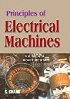 Principles of Electrical Machines 8121921910 Book Cover