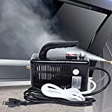 Multifunction Handheld Steam Cleaner, 1600W Electric High Pressure Steam Clean Mobile Cleaning Machine Power Steamer, High Temperature Portable Steam Cleaner for Furniture Car Household (Black)