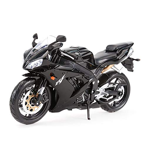 1:12 para Yamaha YZF-R1 Vehículos De Fundición De Los Vehículos Coleccionables Hobbies Motorycle Model Toys (Color : 1)