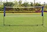 Sports God Portable Badminton Volleyball Tennis Net Set with Stand/Frame (14 ft)