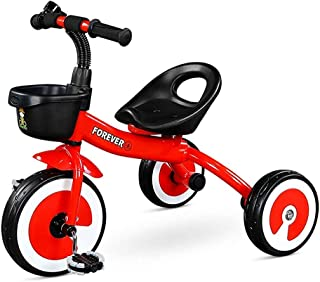 Children's Sports Tricycle With Movable Seat, Baby Stroller, Kindergarten Toy Stroller, Pedal Bicycle, Maximum Load 35KG J...
