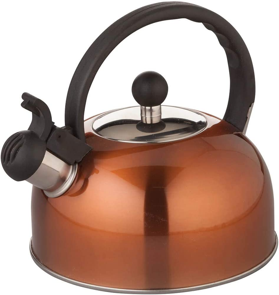 Home Marketplace Super-cheap Milwaukee Mall Copper Color Kettle Tea Whistling