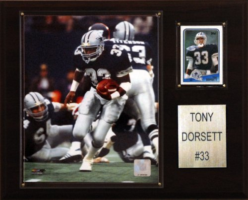 C & I Collectables NFL Tony Dorsett Dallas Cowboys Spieler Plaque