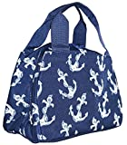 Ever Moda Anchors Insulated Lunch Bag