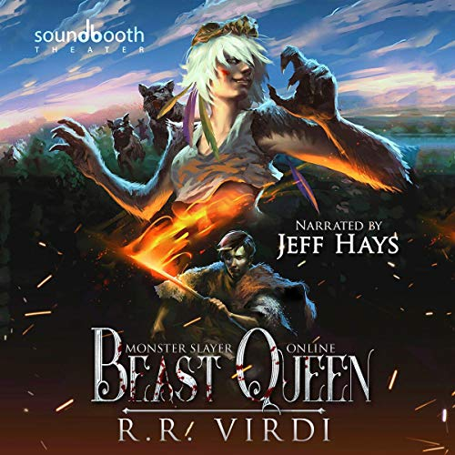 Beast Queen: A LitRPG/GameLit Action Adventure audiobook cover art