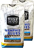 Ugly Mug Coffee Signature Organic Blend Mix Roast | 2-12oz Ground Coffee packs (Memphis Blues, Ground Coffee)