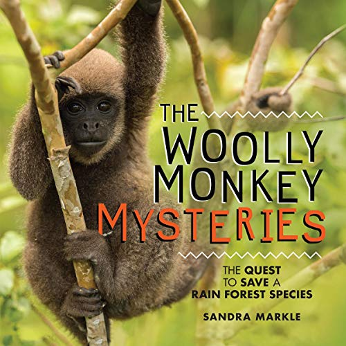 The Woolly Monkey Mysteries cover art