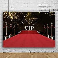 Zhyポリエステル生地VIPレッドカーペットの背景7x5ft誕生日パーティーの写真の背景結婚式の背景授賞式年次お祝いの背景学校のプロムの写真記念日のお祝いの小道具