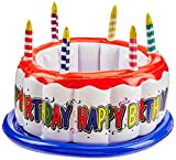 Beistle 57894Hinchable Enfriador de Tarta de cumpleaños, 24Pulgadas por 16Pulgadas