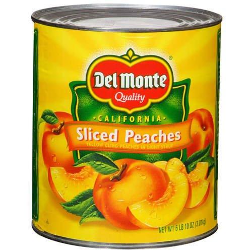 Del Monte Miami Mall Sliced Peaches - 6 2 Ounce Popular brand in the world Pack 10 Pound