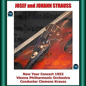 "Josef and Johann Strauss: Vienna Philharmonic ""New Year"" Concert, 1952"