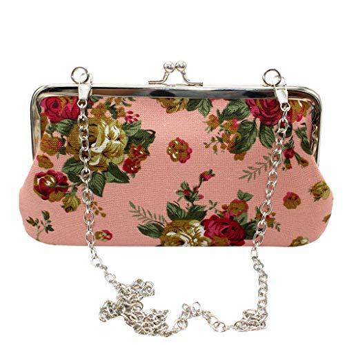 Cheapest Price! Fashion Women Bag! ZOMUSAR Women New Phone Bag Retro Canvas Rose Wallet Fashion Clut...