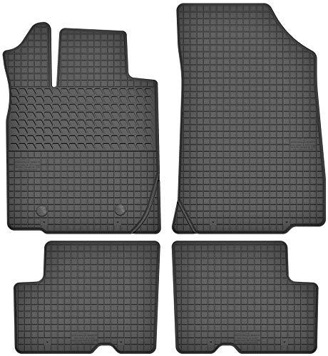 Motohobby Gummimatten Gummi Fußmatten Satz für Dacia Logan I (04-12) / Duster I (10-16) - Passgenau