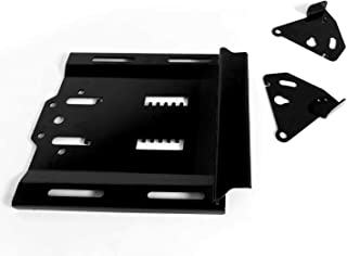 """SuperATV Seat Lowering Base for Polaris RZR XP 1000 / S 1000/4 Seat (2014+) - Lowers Seat by 1.5"""" with Front to Back Adjustability"""