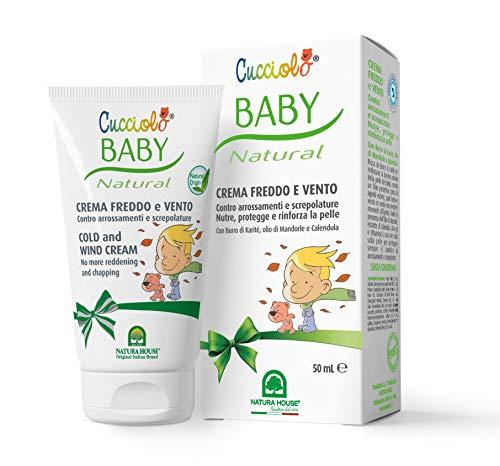 Cucciolo Baby & Mamy - Natural Crema Freddo e Vento, 50 ml