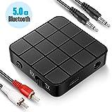 Transmetteur Récepteur Bluetooth 5.0, Adaptateur Bluetooth Sans Fil 2 en 1 Transmetteur et...