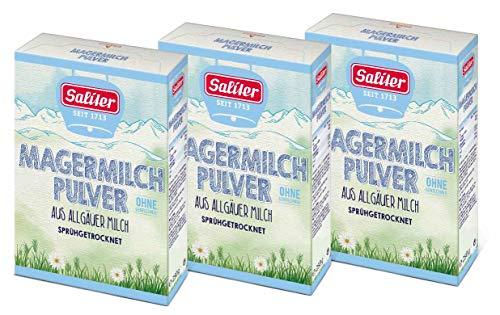Saliter Alpen-Magermilchpulver, 3er Pack (3 x 250g)