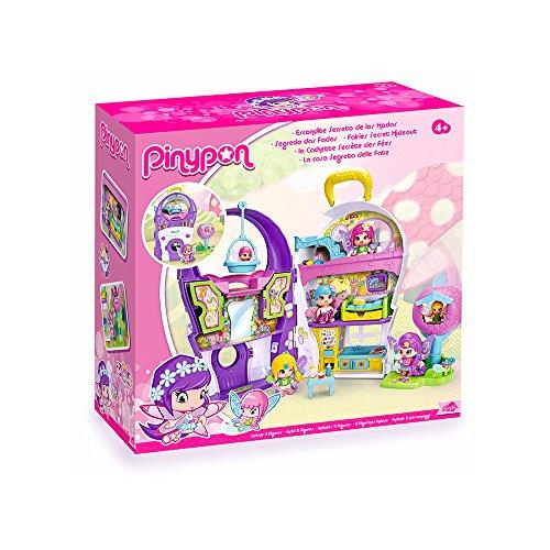 Pinypon Escondite secreto de las hadas, muñecas con accesorios (Famosa 700013090)