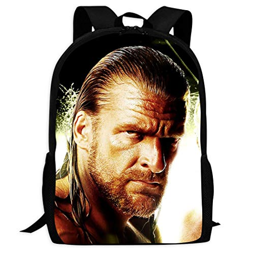 Kengret R-aw S-hawn M-ichaels Fashion Vivid 3D Printing Cool School Backpack School Bag Colorful Funny Travel Backpack for Boys Girls