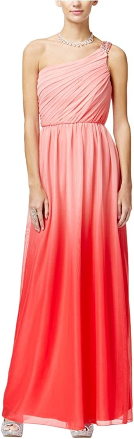 Bcx Womens Embellished Ombre Gown Dress