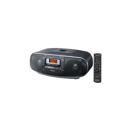 Panasonic RX-D55GC-K Boombox - High Power Portable Stereo AM/FM Radio