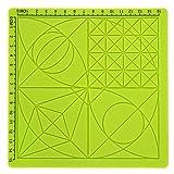 Plantilla básica Herramientas de impresión 3D, Lápiz de impresión 3D antiadherente Alfombrilla de silicona, Diseño de lápiz 3D verde Principiantes/profesionales para niños/adultos
