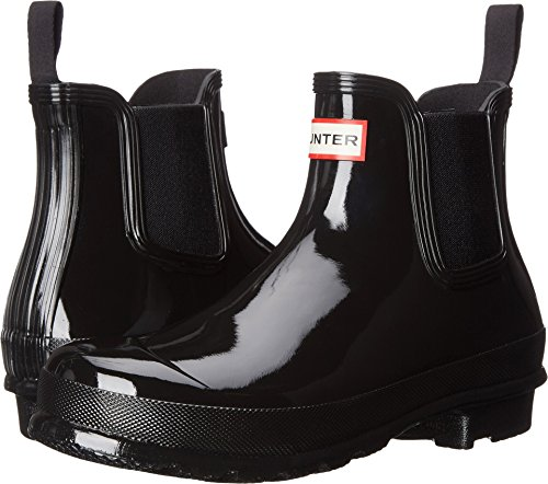 HUNTER Original Chelsea Boots Gloss Black 8