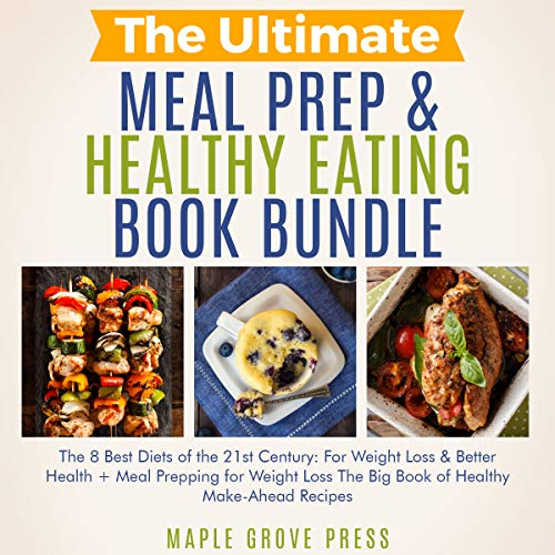 The Ultimate Meal Prep & Healthy Eating Book Bundle audiobook cover art