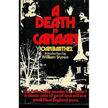 Death in Canaan 0440119391 Book Cover
