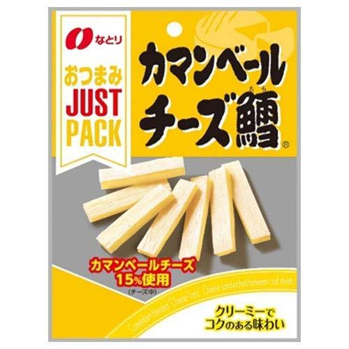 なとり JUSTPACKカマンベールチーズ鱈 21g×10袋