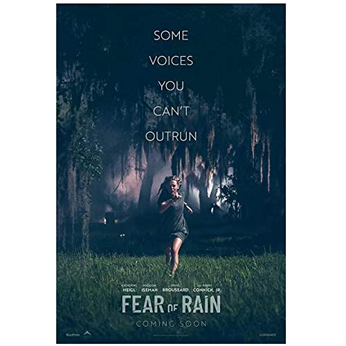 DMYDMY Fear of Rain (2020) Posters and Prints Movie Fashion Trend Beautiful Home Art Decor Poster Wall Deco Gift -20x28 inch No Frame