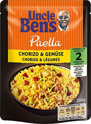 Uncle Ben's Express Fertiggerichte Chorizo & Gemüse, 6 Packungen (6 x 250g)
