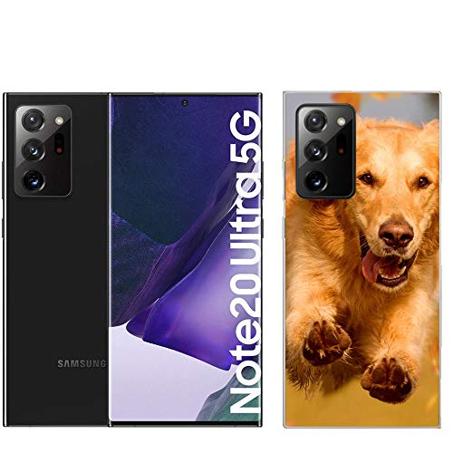 Personaliza tu Funda [Samsung Galaxy Note 20 Ultra] de Silicona Flexible Transparente Carcasa Case Cover de Gel TPU para tu Smartphone