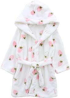Kids & Adults Robe, Boys Girls Toddler Baby Flannel Soft Bathrobes, 18 Months - Women XL