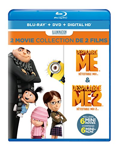 Despicable Me / Despicable Me: 2 (Blu-ray / DVD) (2-Movie Collection)