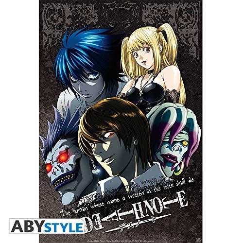 ABYstyle abystyleabydco114Abysse Death Note Grupo número 1' Póster, 52x 38cm