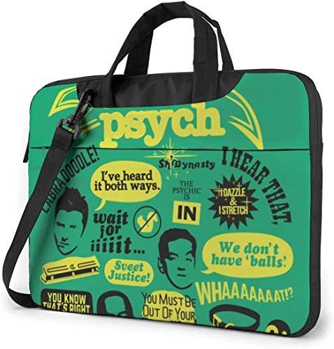Psych Pine Shockproof Laptop Shoulder Menger Bag Laptop Case Sleeve Laptop Briefcase Busin Handbag