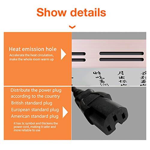 HL Infrarot Heizung Panel Gut Montiert Carbon Kristall Infrarot Heizung Bad Home Office Bild 6*