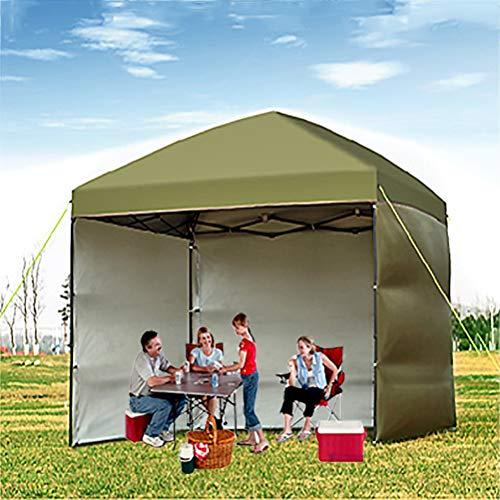 Zhyaj 3X3m All Seasons Gazebos - 100% Impermeable Gazebo Pop Up para Los Jardines Camping - Tienda De Fiesta con Protección UV con 3 Paneles Laterales