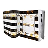 UniKeep Keepsake Wedding Planning Binder Kit Organizer - Ultimate Guide for Planning a Wedding