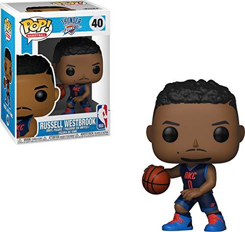 Funko 34452 POP Vinilo NBA Personaje de Russell Westbrook, Muñeco cabezón, Multicolor