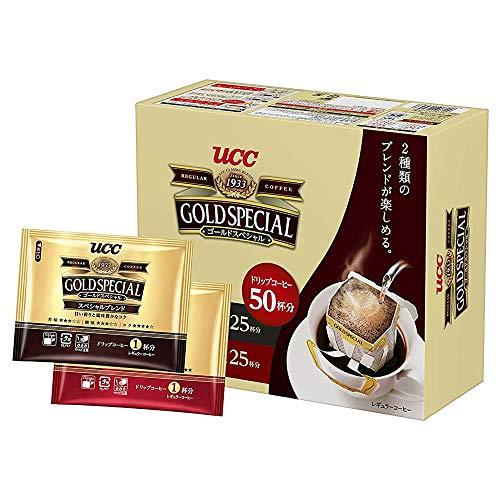 UCC『ゴールドスペシャル ドリップコーヒー アソートパック 50P』