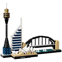 Build a detailed model of the Sydney skyline! Includes the Sydney Opera House, Sydney Harbour Bridge, Sydney Tower and Deutsche Bank Place Includes collectible booklet containing information about the design, architecture and history of the building ...