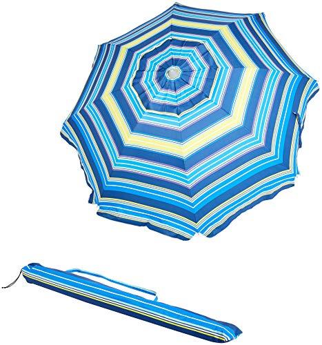 Amazon Basics Beach Umbrella -...