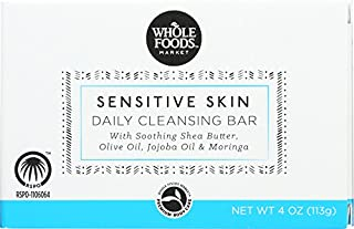 Whole Foods Market, Sensitive Skin Daily Cleansing Bar, 4 oz