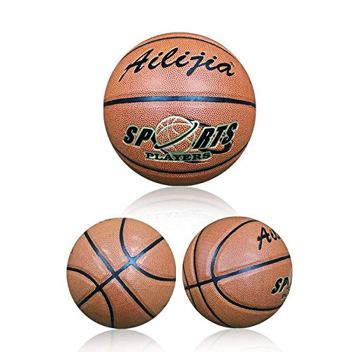 Great Deal! Outdoor sports fashion home Hygroscopic Basketball No.7 Basketball Pu Standard Adult Com...