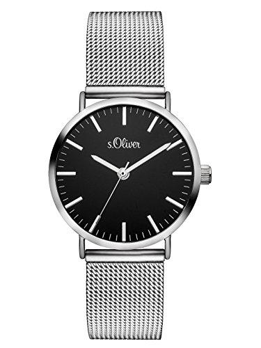 S.Oliver Damen Time Armbanduhr SO-3328-MQ